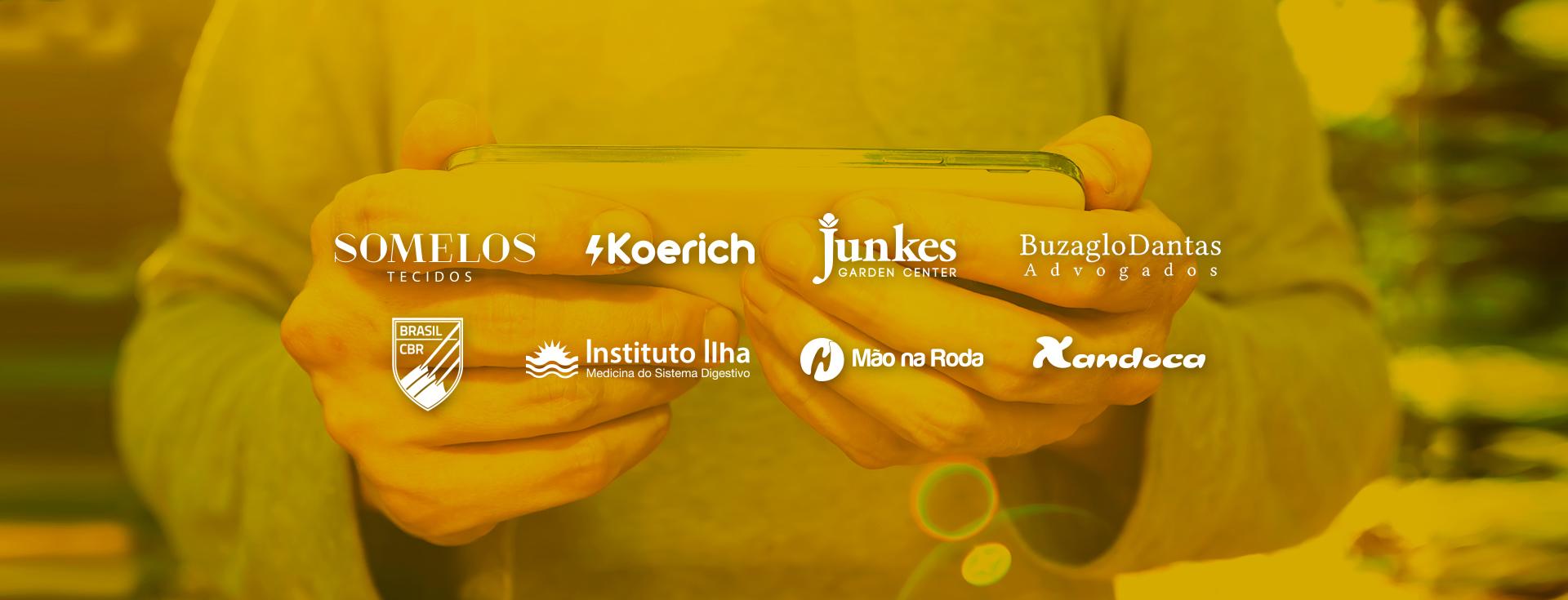 Smacky Agência Digital Florianópolis Cases de Clientes Website App Papelaria & Branding